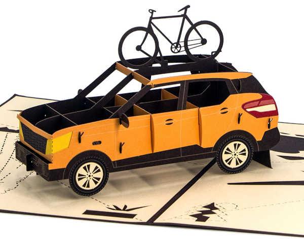 Orange SUV
